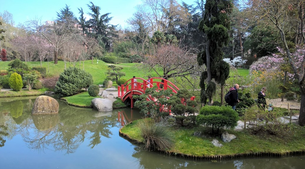 botanical garden in Toulouse